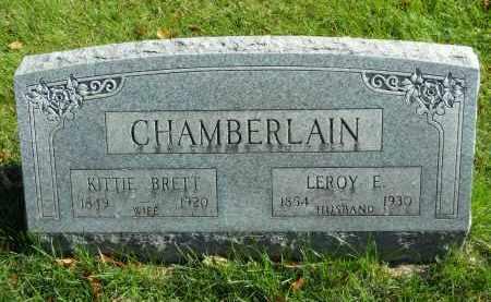 CHAMBERLAIN, KITTIE - Boone County, Illinois | KITTIE CHAMBERLAIN - Illinois Gravestone Photos