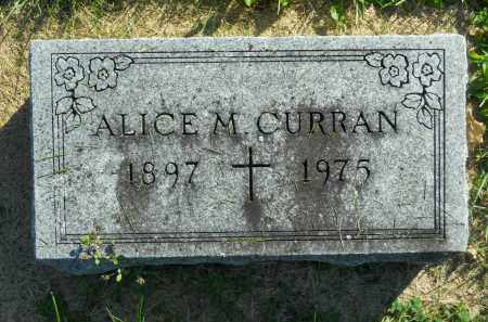 CURRAN, ALICE M. - Boone County, Illinois | ALICE M. CURRAN - Illinois Gravestone Photos