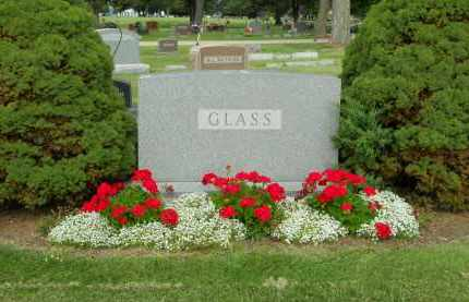 GLASS, FAMILY STONE - Boone County, Illinois | FAMILY STONE GLASS - Illinois Gravestone Photos