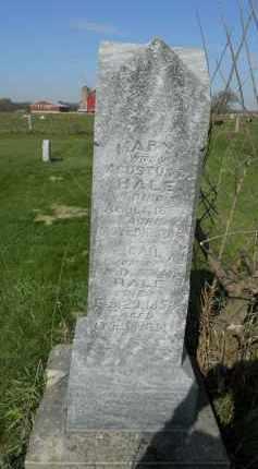HALE, MARY A. - Boone County, Illinois | MARY A. HALE - Illinois Gravestone Photos