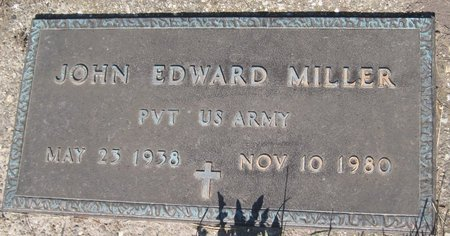 MILLER, JOHN EDWARD - Champaign County, Illinois | JOHN EDWARD MILLER - Illinois Gravestone Photos