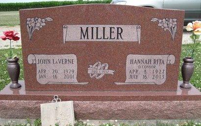 MILLER, HANNAH RITA - Champaign County, Illinois | HANNAH RITA MILLER - Illinois Gravestone Photos