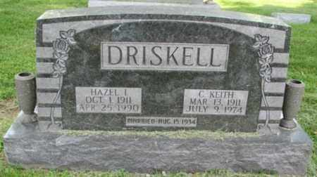 DRISKELL, CHESTER KEITH - Christian County, Illinois | CHESTER KEITH DRISKELL - Illinois Gravestone Photos