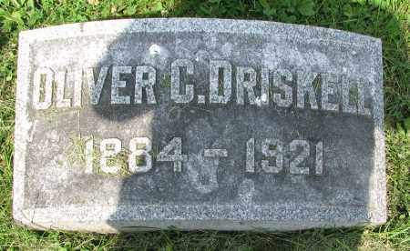 DRISKELL, OLIVER C. - Christian County, Illinois | OLIVER C. DRISKELL - Illinois Gravestone Photos