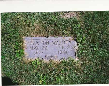 WALDEN, JOHN BENTON - Clark County, Illinois | JOHN BENTON WALDEN - Illinois Gravestone Photos