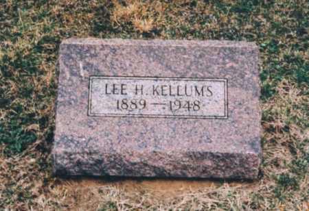 KELLUMS, LEE H. - Clay County, Illinois   LEE H. KELLUMS - Illinois Gravestone Photos
