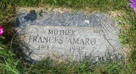 AMARO, FRANCES - Cook County, Illinois | FRANCES AMARO - Illinois Gravestone Photos