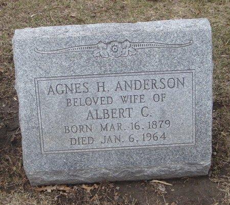 ANDERSON, AGNES H. - Cook County, Illinois | AGNES H. ANDERSON - Illinois Gravestone Photos