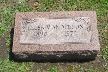 ANDERSON, ELLEN V. - Cook County, Illinois | ELLEN V. ANDERSON - Illinois Gravestone Photos