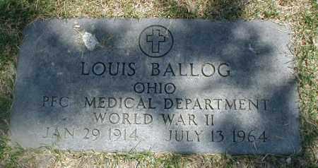 BALLOG, LOUIS - Cook County, Illinois | LOUIS BALLOG - Illinois Gravestone Photos