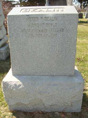 BEALIN, PETER P. - Cook County, Illinois | PETER P. BEALIN - Illinois Gravestone Photos