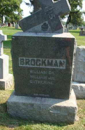 BROCKMAN, CATHERINE - Cook County, Illinois | CATHERINE BROCKMAN - Illinois Gravestone Photos