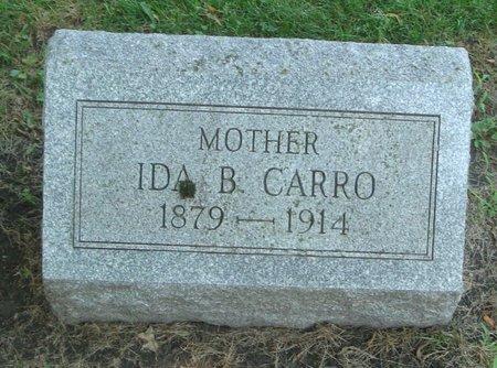 CARRO, IDA B. - Cook County, Illinois | IDA B. CARRO - Illinois Gravestone Photos