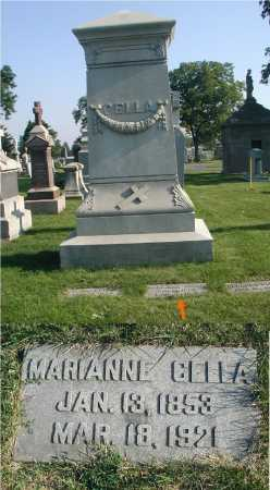 CELLA, MARIANNE - Cook County, Illinois | MARIANNE CELLA - Illinois Gravestone Photos