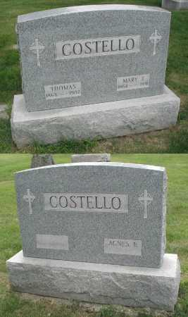 COSTELLO, AGNES B. - Cook County, Illinois   AGNES B. COSTELLO - Illinois Gravestone Photos