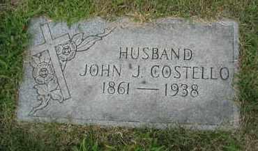 COSTELLO, JOHN J. - Cook County, Illinois | JOHN J. COSTELLO - Illinois Gravestone Photos