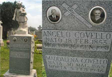 COVELLO, ANGELO - Cook County, Illinois | ANGELO COVELLO - Illinois Gravestone Photos