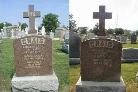CRAIG, MARGARET - Cook County, Illinois | MARGARET CRAIG - Illinois Gravestone Photos