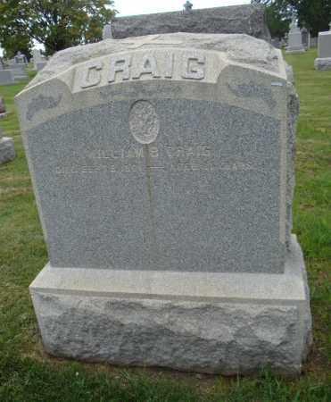 CRAIG, WILLIAM B. - Cook County, Illinois   WILLIAM B. CRAIG - Illinois Gravestone Photos