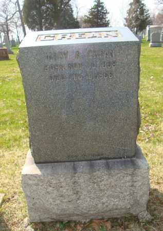 CREAN, MARY A. - Cook County, Illinois | MARY A. CREAN - Illinois Gravestone Photos