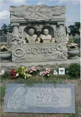 D'ANGELO, MICHAEL DI VITO - Cook County, Illinois | MICHAEL DI VITO D'ANGELO - Illinois Gravestone Photos
