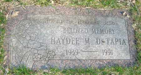 DE TAPIA, HAYDEE M. - Cook County, Illinois | HAYDEE M. DE TAPIA - Illinois Gravestone Photos