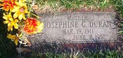 DURAN, JOSEPHINE G. - Cook County, Illinois   JOSEPHINE G. DURAN - Illinois Gravestone Photos