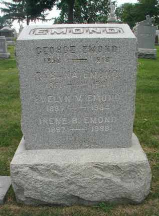 EMOND, EVELYN V. - Cook County, Illinois | EVELYN V. EMOND - Illinois Gravestone Photos