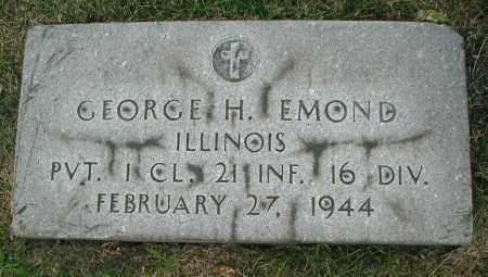 EMOND, GEORGE H. - Cook County, Illinois | GEORGE H. EMOND - Illinois Gravestone Photos