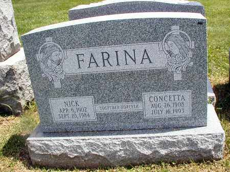 FARINA, NICK - Cook County, Illinois | NICK FARINA - Illinois Gravestone Photos