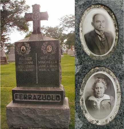 FERRAZUOLO, MINICHELLA - Cook County, Illinois | MINICHELLA FERRAZUOLO - Illinois Gravestone Photos