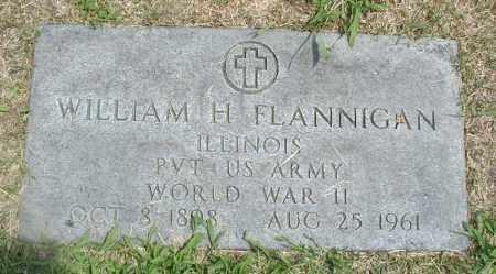 FLANNIGAN, WILLIAM H. - Cook County, Illinois | WILLIAM H. FLANNIGAN - Illinois Gravestone Photos