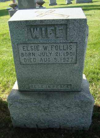 FOLLIS, ELSIE W. - Cook County, Illinois | ELSIE W. FOLLIS - Illinois Gravestone Photos