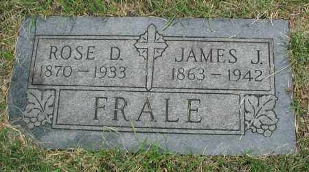 FRALE, ROSE D. - Cook County, Illinois | ROSE D. FRALE - Illinois Gravestone Photos
