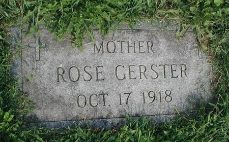 GERSTER, ROSE - Cook County, Illinois | ROSE GERSTER - Illinois Gravestone Photos
