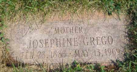 GREGO, JOSEPHINE - Cook County, Illinois | JOSEPHINE GREGO - Illinois Gravestone Photos