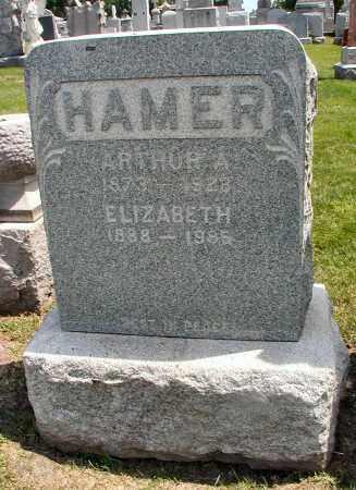 HAMER, ARTHUR A. - Cook County, Illinois | ARTHUR A. HAMER - Illinois Gravestone Photos