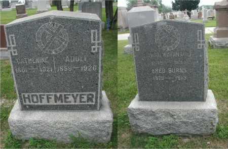 HOFFMEYER, ADOLF - Cook County, Illinois | ADOLF HOFFMEYER - Illinois Gravestone Photos