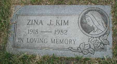 KIM, ZINA J. - Cook County, Illinois | ZINA J. KIM - Illinois Gravestone Photos