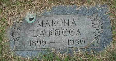 LA ROCCA, MARTHA - Cook County, Illinois   MARTHA LA ROCCA - Illinois Gravestone Photos