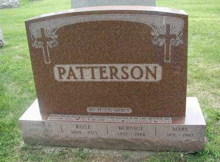 PATTERSON, MARY - Cook County, Illinois | MARY PATTERSON - Illinois Gravestone Photos