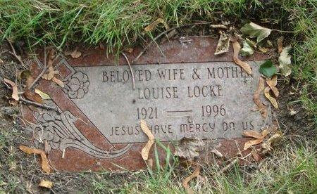 LOCKE, LOUISE - Cook County, Illinois | LOUISE LOCKE - Illinois Gravestone Photos