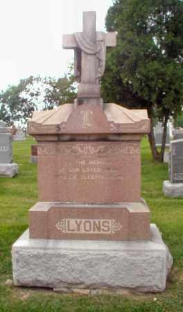 LYONS, UNKNOWN - Cook County, Illinois   UNKNOWN LYONS - Illinois Gravestone Photos