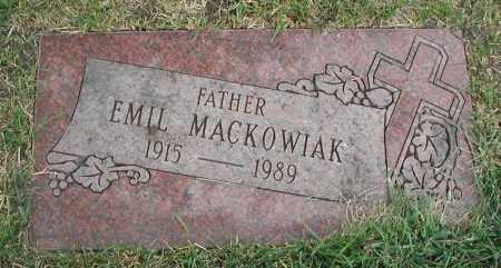 MACKOWIAK, EMIL - Cook County, Illinois | EMIL MACKOWIAK - Illinois Gravestone Photos
