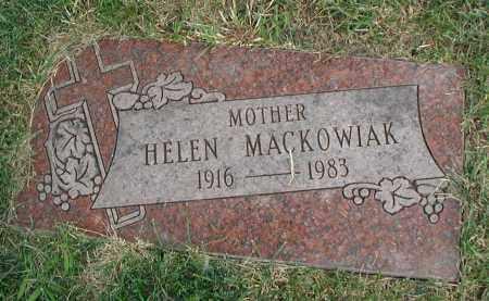 MACKOWIAK, HELEN - Cook County, Illinois   HELEN MACKOWIAK - Illinois Gravestone Photos