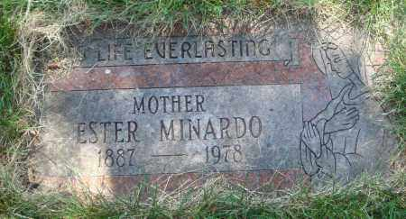 MINARDO, ESTER - Cook County, Illinois | ESTER MINARDO - Illinois Gravestone Photos
