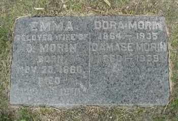 MORIN, DAMASE - Cook County, Illinois | DAMASE MORIN - Illinois Gravestone Photos