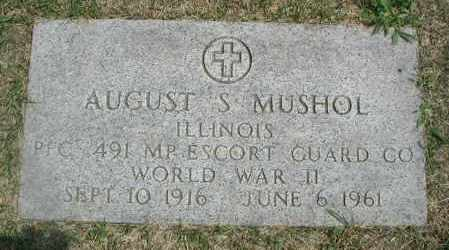 MUSHOL, AUGUST S. - Cook County, Illinois | AUGUST S. MUSHOL - Illinois Gravestone Photos