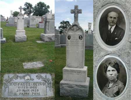 OLIVO, RAFFAELE - Cook County, Illinois | RAFFAELE OLIVO - Illinois Gravestone Photos