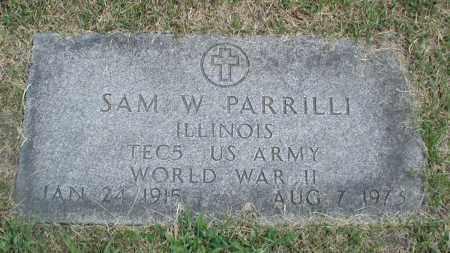 PARRILLI, SAM W - Cook County, Illinois | SAM W PARRILLI - Illinois Gravestone Photos
